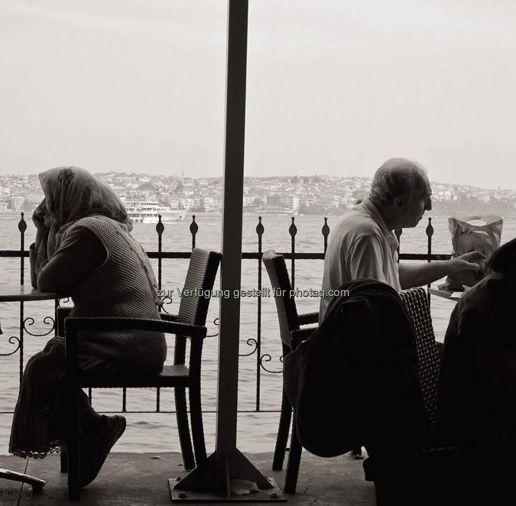 Hafencafe; Türkei, Istanbul, © Herlinde Wagner (02.06.2013)