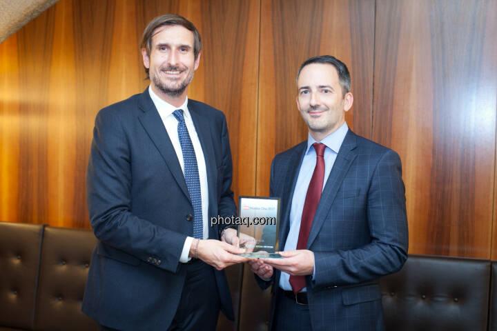 Christoph Moser (Weber & Co.), Manuel Taverne (FACC) - Aktie im ATX Prime - FACC