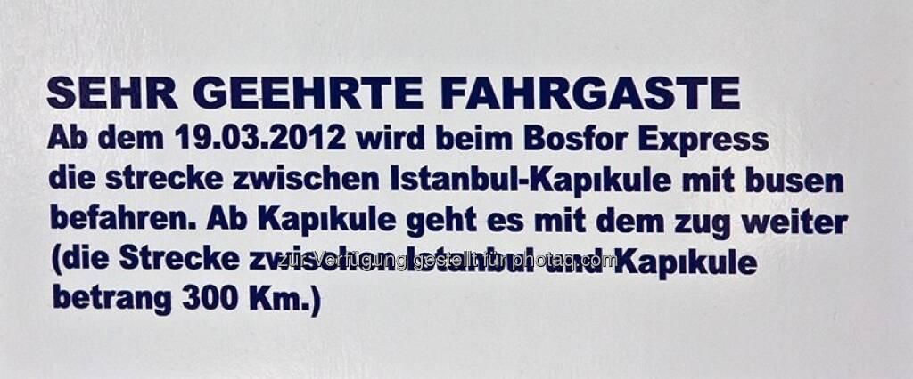 Türkei, Istanbul, © Herlinde Wagner (02.06.2013)