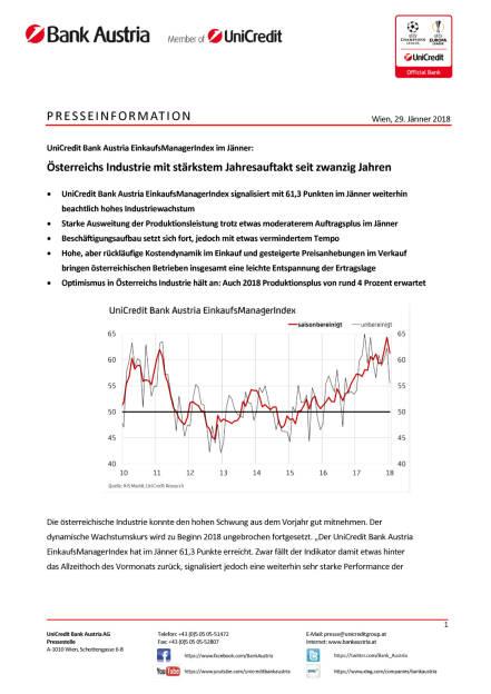 Österreichs Industrie mit stärkstem Jahresauftakt seit zwanzig Jahren, Seite 1/4, komplettes Dokument unter http://boerse-social.com/static/uploads/file_2418_osterreichs_industrie_mit_starkstem_jahresauftakt_seit_zwanzig_jahren.pdf (29.01.2018)