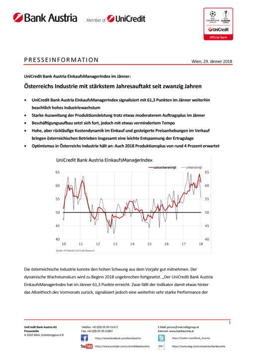Österreichs Industrie mit stärkstem Jahresauftakt seit zwanzig Jahren, Seite 1/4, komplettes Dokument unter http://boerse-social.com/static/uploads/file_2418_osterreichs_industrie_mit_starkstem_jahresauftakt_seit_zwanzig_jahren.pdf