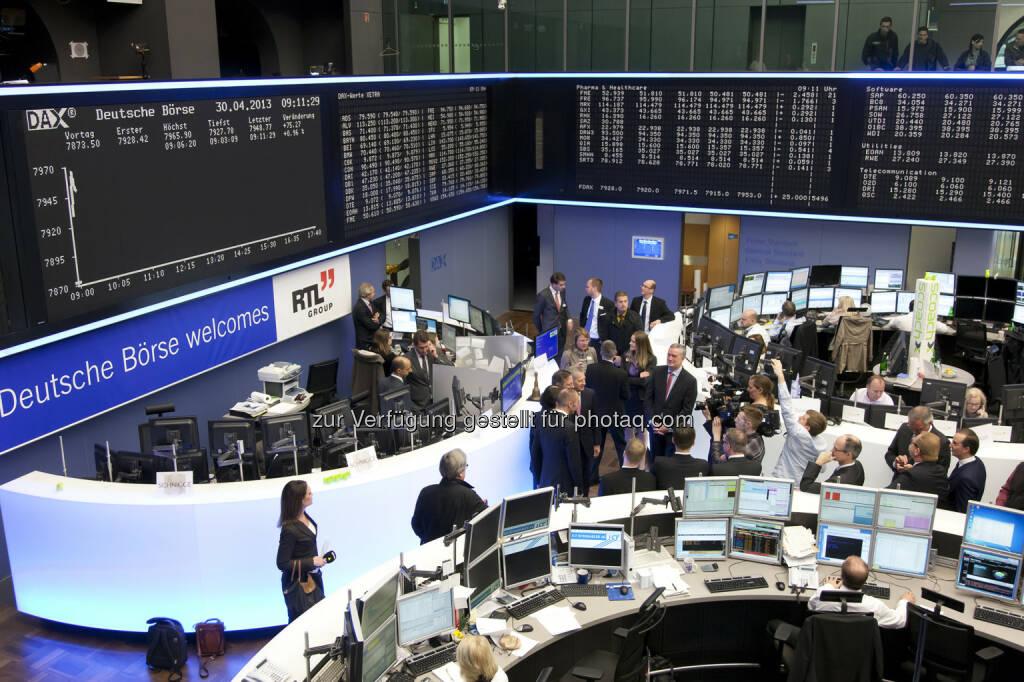 Deutsche Börse AG - IPO RTL IHK Frankfurt / Parkett, Credit: Deutsche Börse AG (30.01.2018)