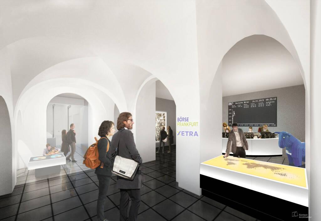 Erweitertes Besucherzentrum Deutsche Börse, Information, Financial Literacy, Credit: Deutsche Börse AG (30.01.2018)