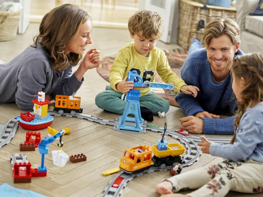 Anlässlich der Internationalen Spielwarenmesse in Nürnberg stellt die LEGO GmbH präsentiert vom 31. Januar bis 4. Februar die Produktneuheiten 2018. Fotocredit:LEGO GmbH, © Aussender (31.01.2018)