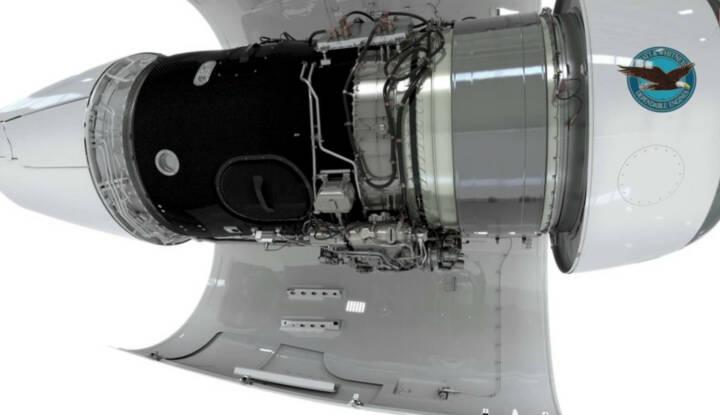 FACC wird die Fan Gehäuse für das PurePower® PW800-Triebwerk von Pratt & Whitney Canada herstellen. Diese nächste Generation von Business Jet-Triebwerken setzt neue Standards bei Leistung und Treibstoffeffizienz. Copyright: Pratt & Whitney Canada