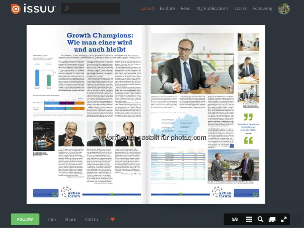 Seiten 4/5 : Die Growth Champions Studie von Accenture, muss man incl. Grafiken und CEO-Statements direkt ansehen (02.06.2013)