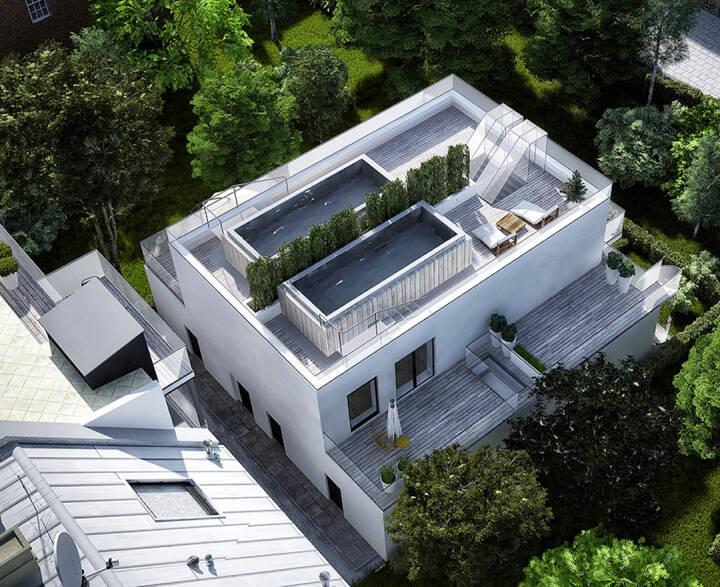 Bei Immofunding.com und LeihDeinerUmweltGeld.de können Anleger ab sofort in ein Energieeffizienzhaus in Österreich investieren. Mit dem eingeworbenen Kapital wird zum einen eine dreigeschossige Bestandsimmobilie kernsaniert und um zwei weitere Geschosse aufgestockt, um insgesamt zwölf Wohneinheiten à 30 - 60 m² mit bis zu 48 m² großem Balkon oder Terrasse zu errichten. Zum anderen wird ein bestehendes Hofgebäude abgerissen und durch vier Townhouses à 50 - 90 m² mit Eigengärten und Terrassen ersetzt. Auf Immofunding.com können sich Anleger ab 250 Euro an dem Projekt beteiligen und erhalten im Gegenzug eine Rendite von 7,00 % p.a. bei einer Laufzeit von 30 Monaten. Bild: Immofunding.com