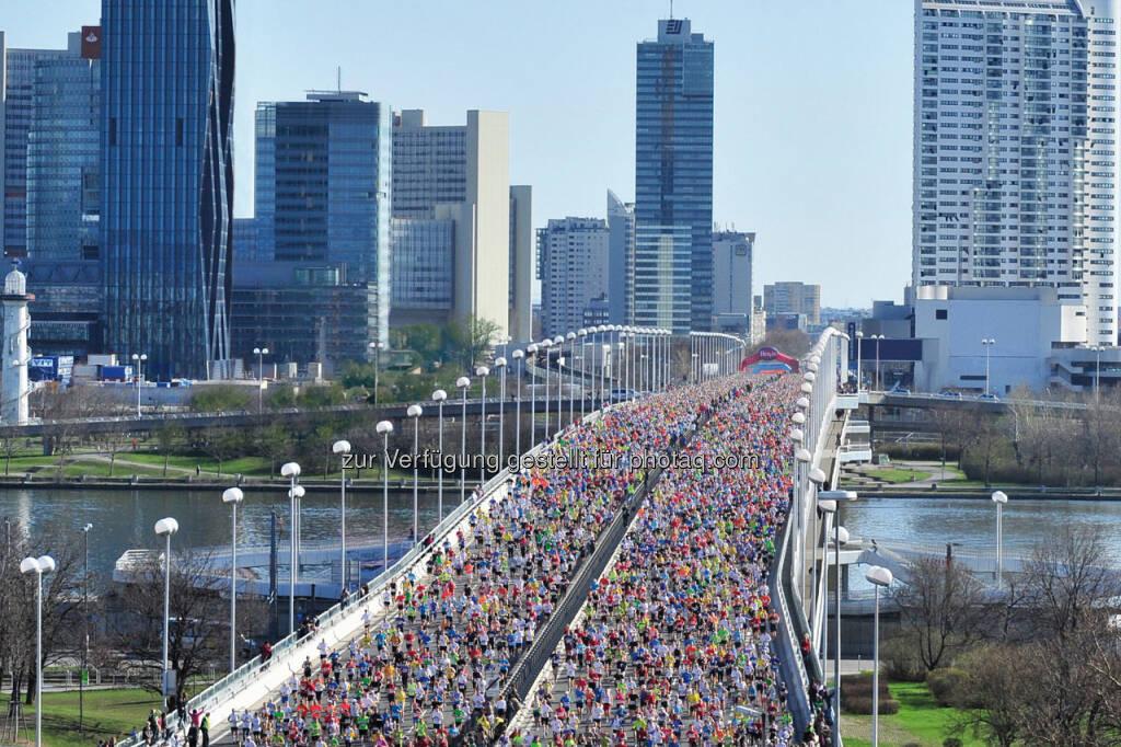 In 3 Monaten den Vienna City Marathon durchlaufen. Machbar oder nicht? (Fotocredit: VCM/FinisherPix) (04.02.2018)