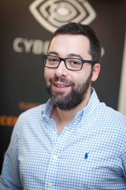 Avi Kravitz, CTO und Gründer CyberTrap GmbH, Foto: Michaela Mejta (08.02.2018)
