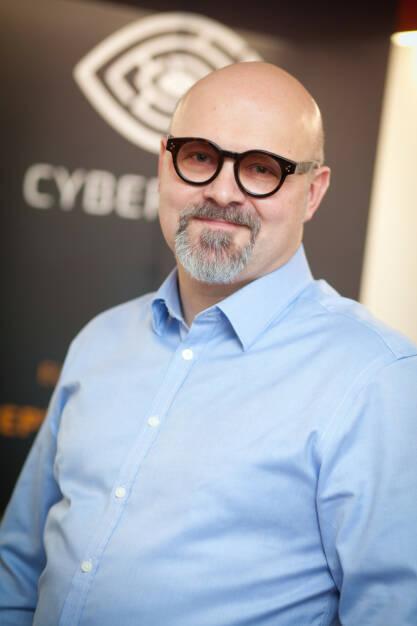 Jack Wagner, CEO CyberTrap GmbH, Foto: Michaela Mejta (08.02.2018)