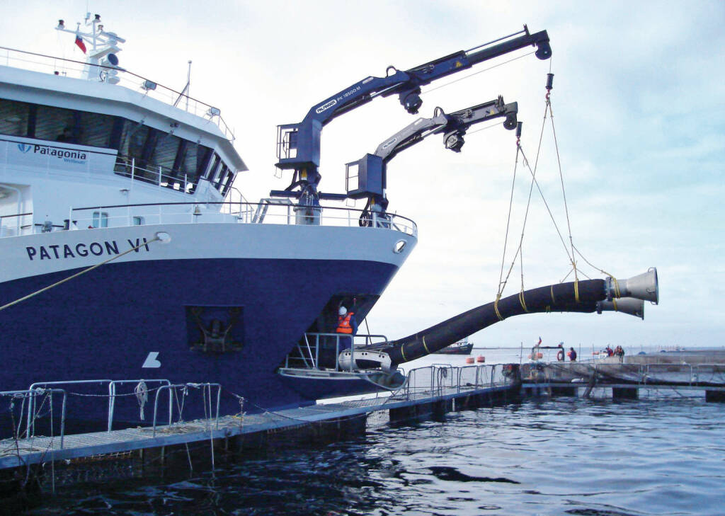 Palfinger Marine Sea Kran Schiff, Credit: Palfinger, © Aussendung (17.02.2018)