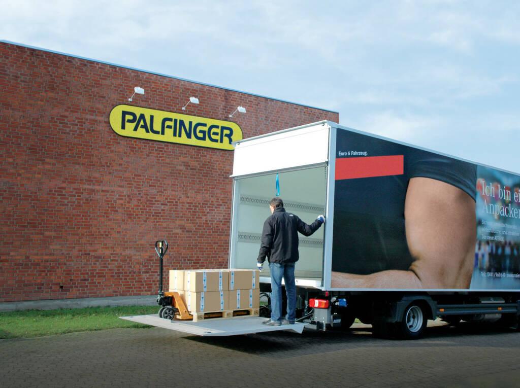 Palfinger, LKW, Lift, Hebebühne, Credit: Palfinger, © Aussendung (17.02.2018)