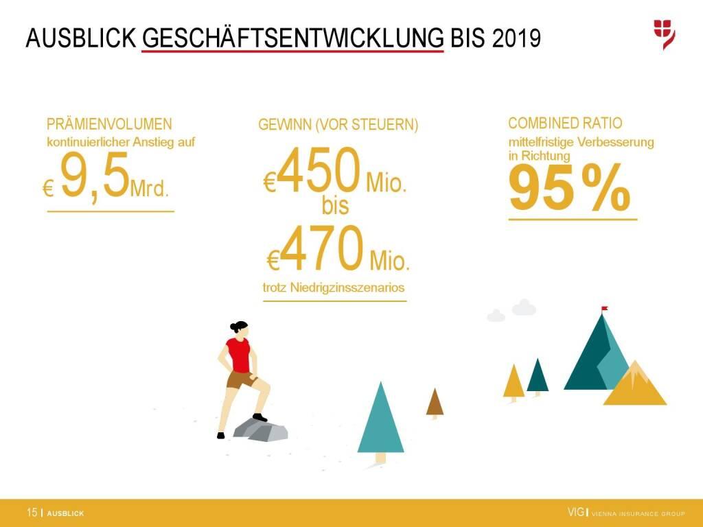 VIG Unternehmenspräsentation - Ausblick Geschäftsentwicklung bis 2019 (20.02.2018)