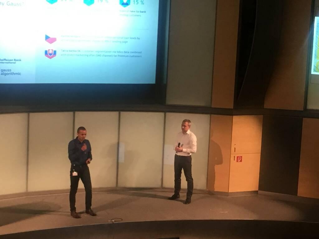 RBI Elevator Lab Pilotprojekt: Gauss Algorithmic ist im Bereich Big Data unterwegs und hilft den Kunden, einen Wettbewerbsvorteil durch Datenanalyse zu schaffen (23.02.2018)