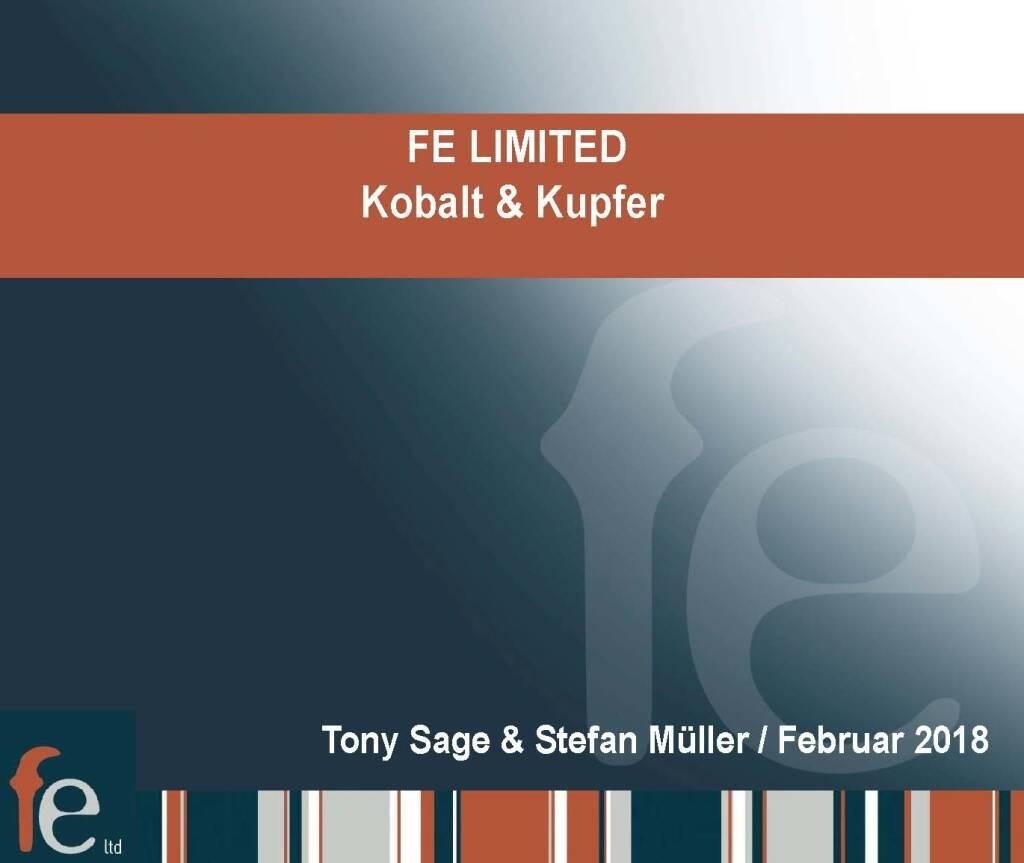 Präsentation FE Limited - Kobalt & Kupfer (27.02.2018)