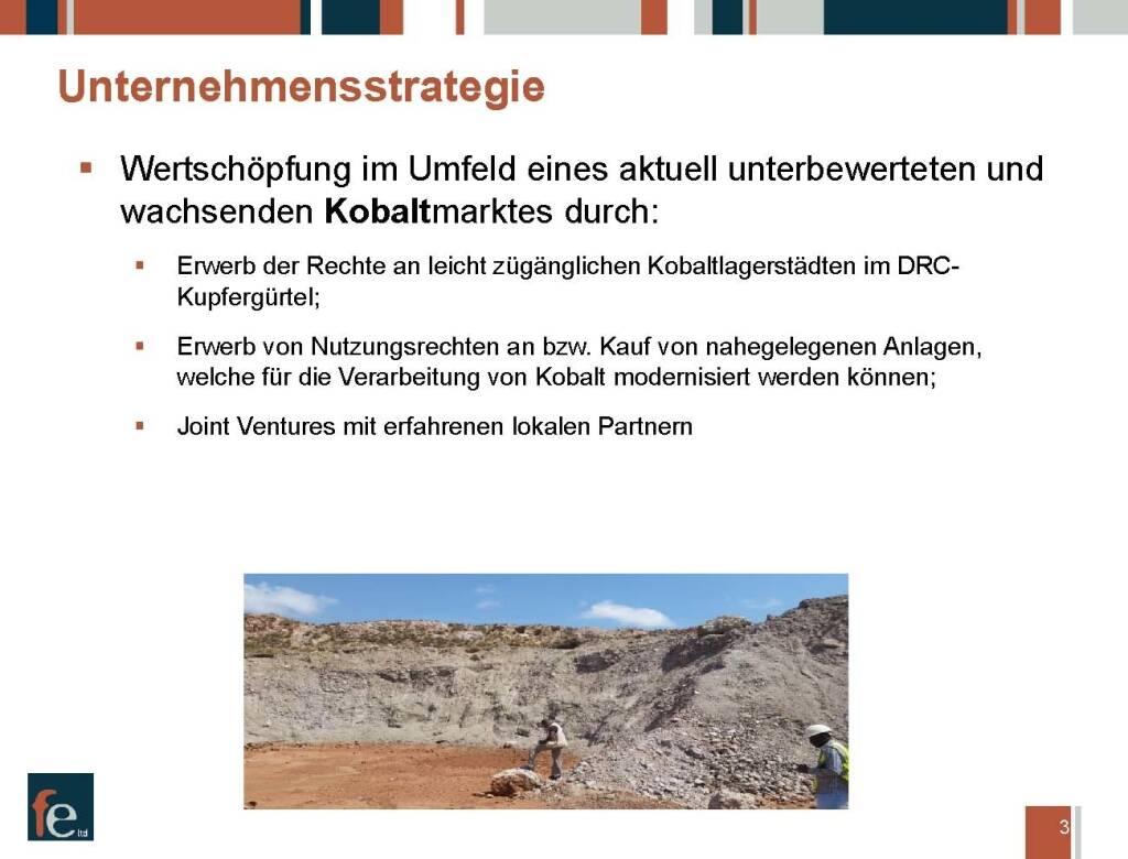Präsentation FE Limited - Unternehmensstrategie (27.02.2018)