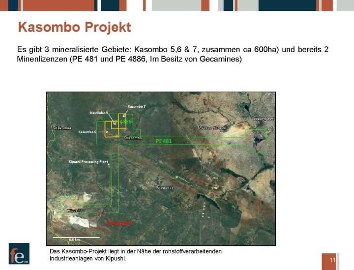 Präsentation FE Limited - Kasombo Projekt