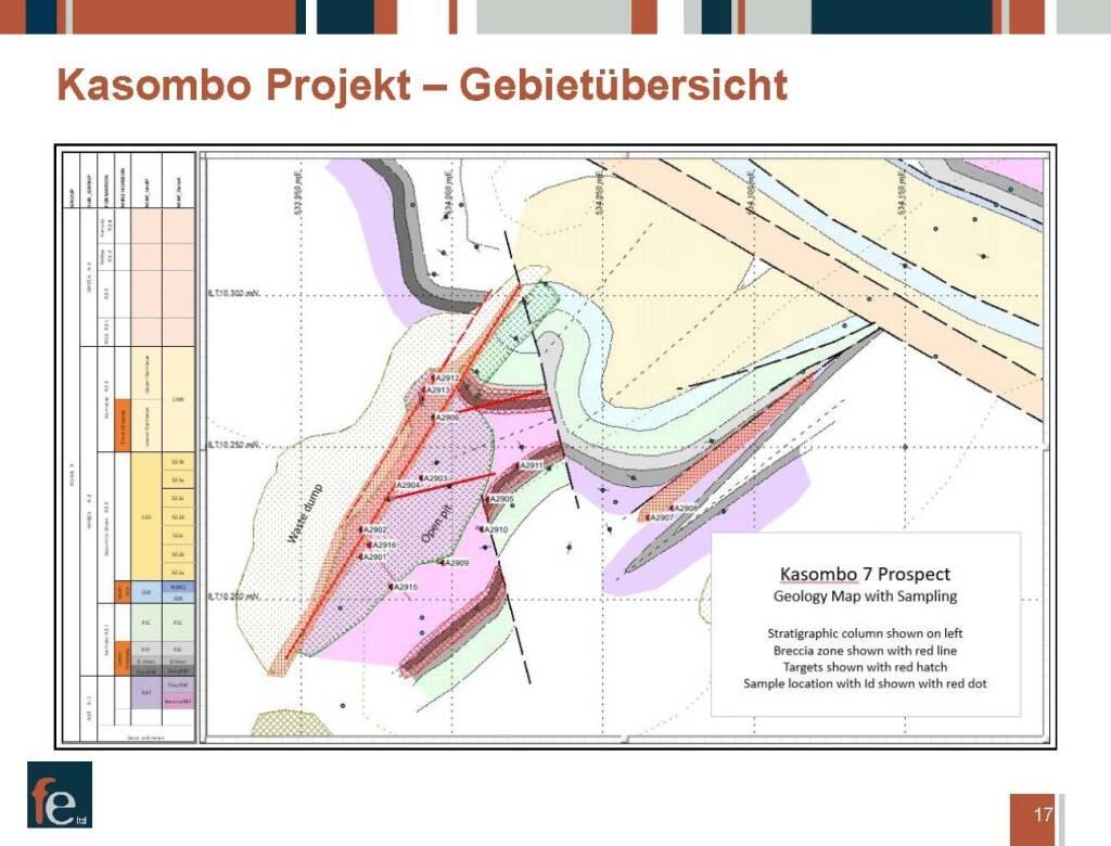 Präsentation FE Limited - Kasombo Projekt, Gebietsübersicht (27.02.2018)