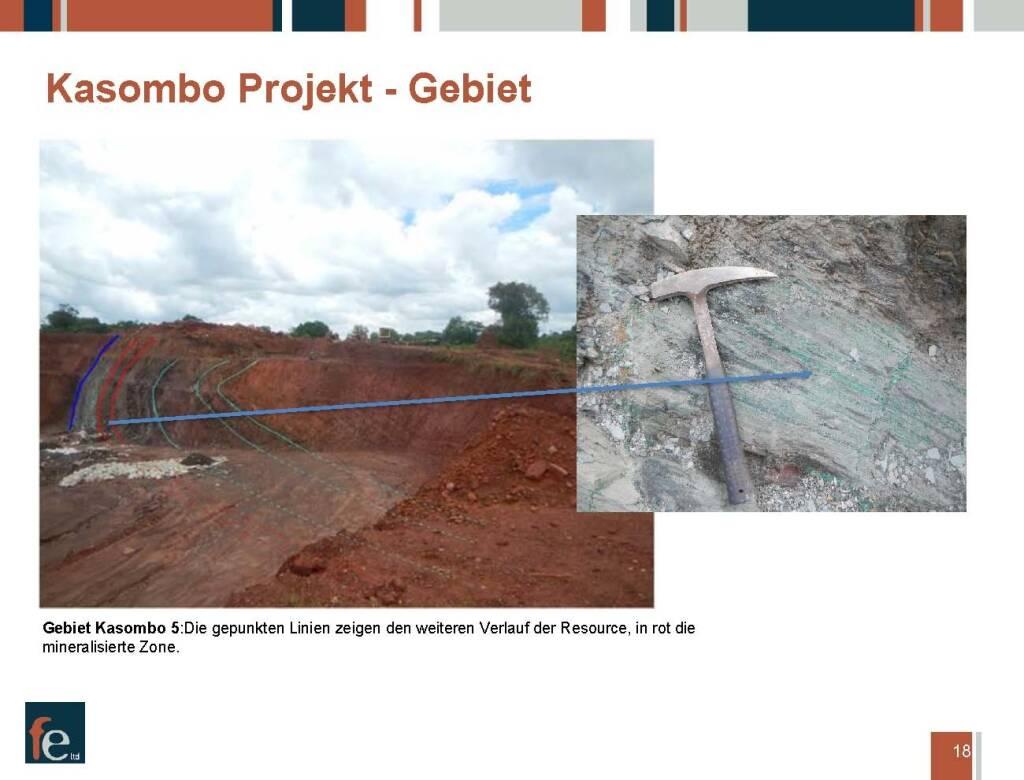 Präsentation FE Limited - Kasombo Projekt Gebiet (27.02.2018)