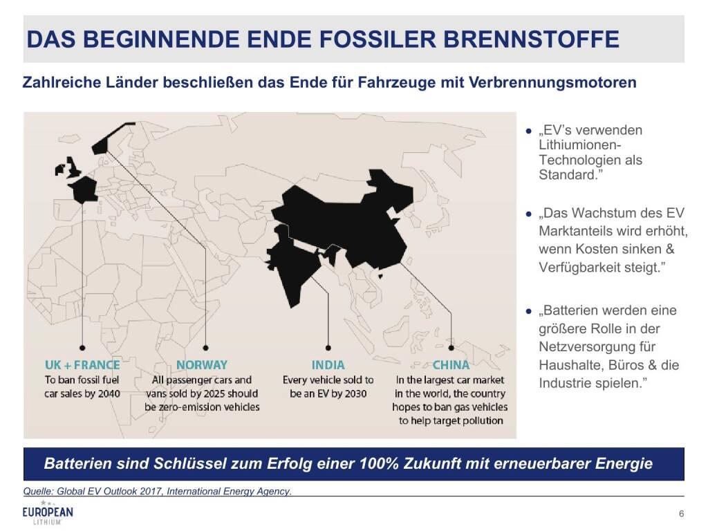 Präsentation European Lithium - Ende fossiler Brennstoffe (27.02.2018)