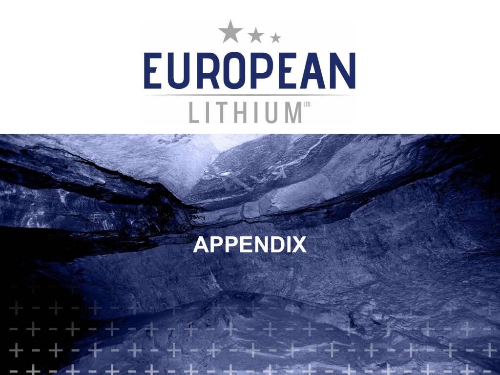 Präsentation European Lithium - Appendix (27.02.2018)