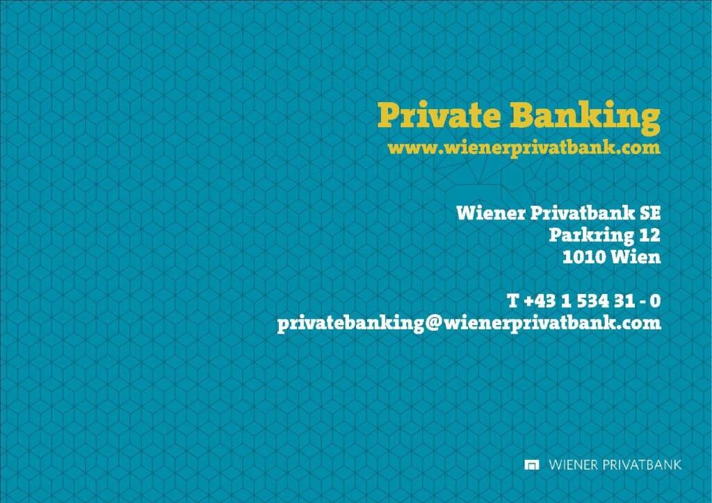 Präsentation Wiener Privatbank - Privates Banking (27.02.2018)