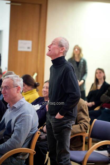 Börse Social Network-Roadshow, aus dem Publikum kamen einige Fragen, Credit: Michaela Mejta (01.03.2018)