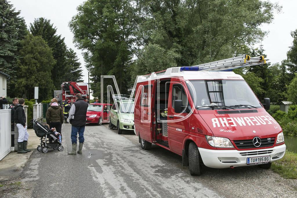 Hochwasser, Altenberg, Feuerwehr, © Martina Draper (03.06.2013)