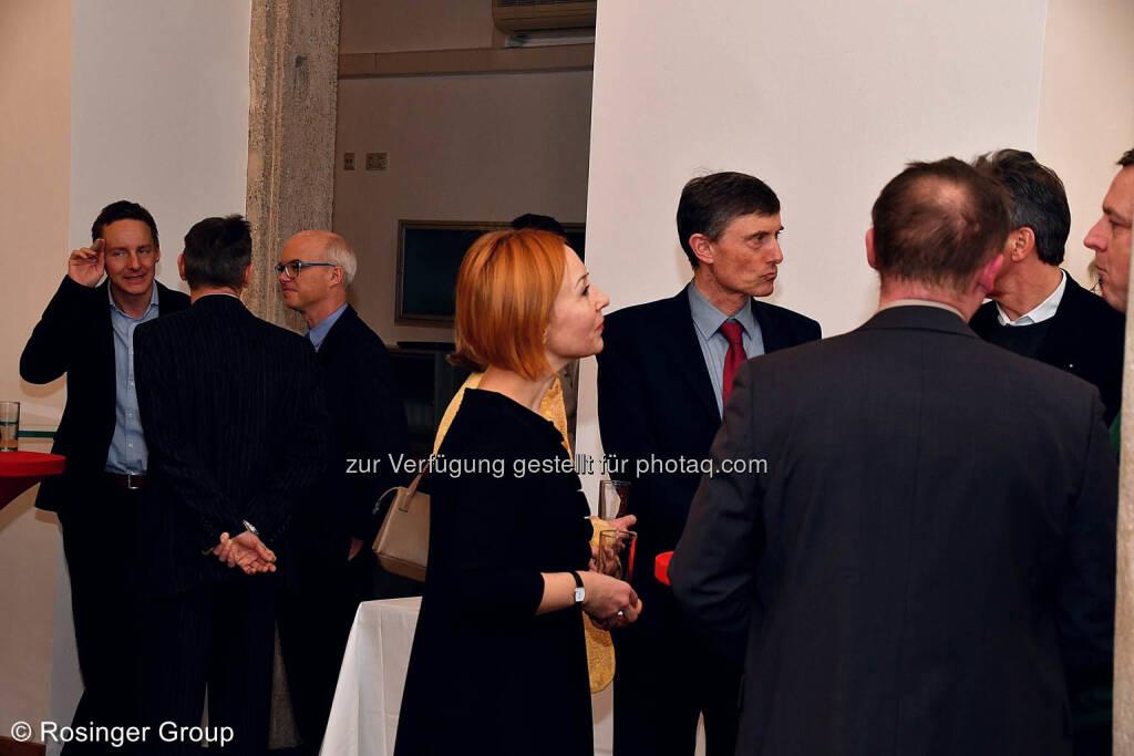 Hochkarätige Vertreter der Wirtschaft waren auch aus den Bundesländern und aus den Nachbarländern angereist - der in London lebende Chairman der Leder und Schuh AG (dazu gehört Humanic) Karl Mayer-Rieckh hatte aber die weiteste Anreise, © (C) Rosinger Group (03.03.2018)