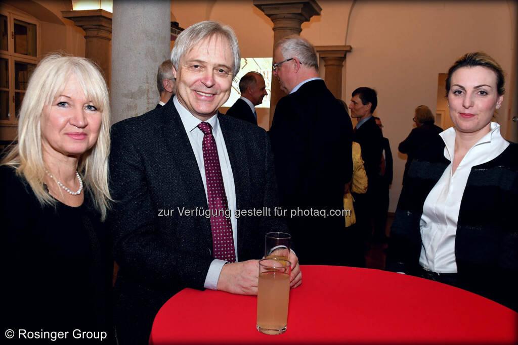 Industrieller Gerhard Schösswender und Partnerin Edith Planitzer (links im Bild), © (C) Rosinger Group (03.03.2018)