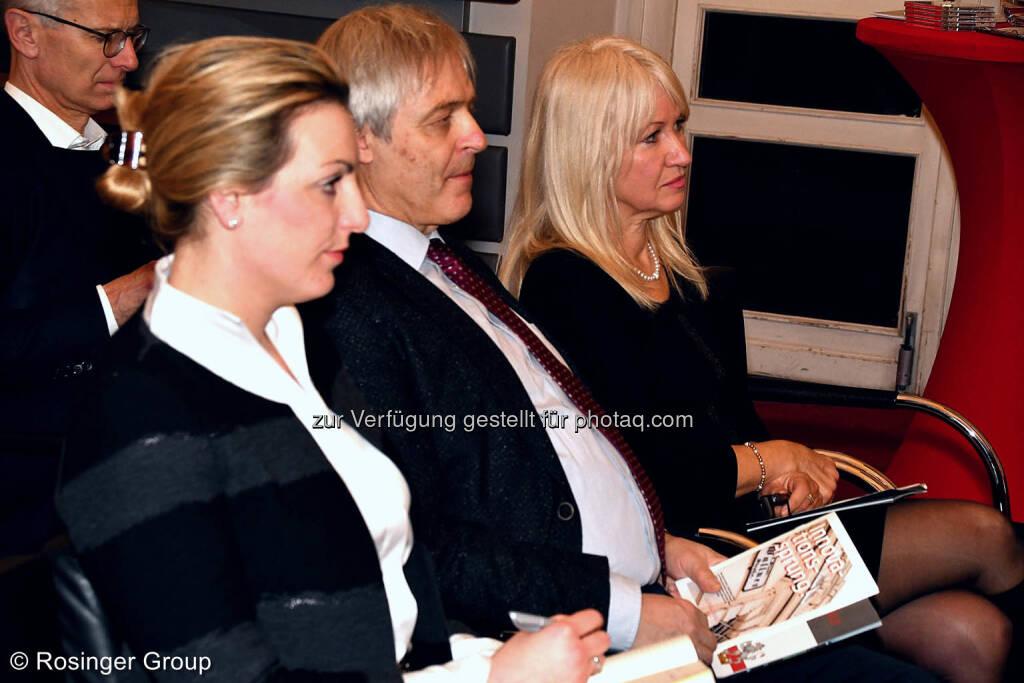 Industrieller Gerhard Schösswender  mit Partnerin Edith Planitzer (im Bild rechts von ihm), © (C) Rosinger Group (03.03.2018)