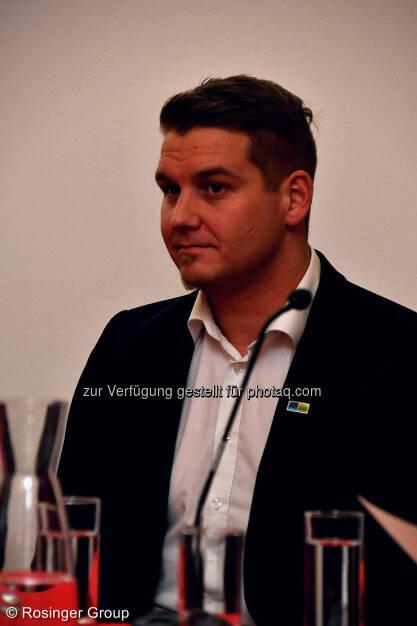 Lukas Scherzenlehner (Cleen Energy), © (C) Rosinger Group (03.03.2018)