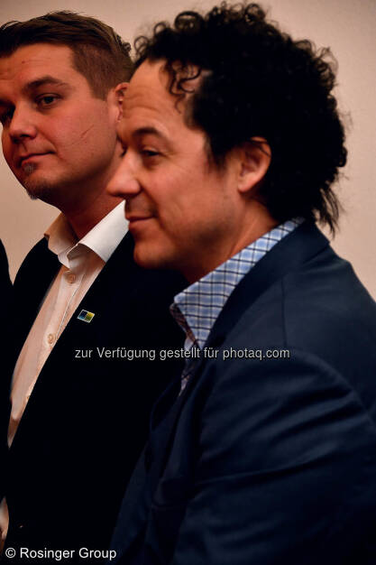 Lukas Scherzenlehner (Cleen Energy) und Rainer Schönfelder (You will like it Group), © (C) Rosinger Group (03.03.2018)