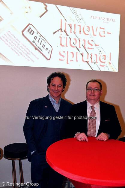 Rainer Schönfelder und Gregor Rosinger, © (C) Rosinger Group (03.03.2018)