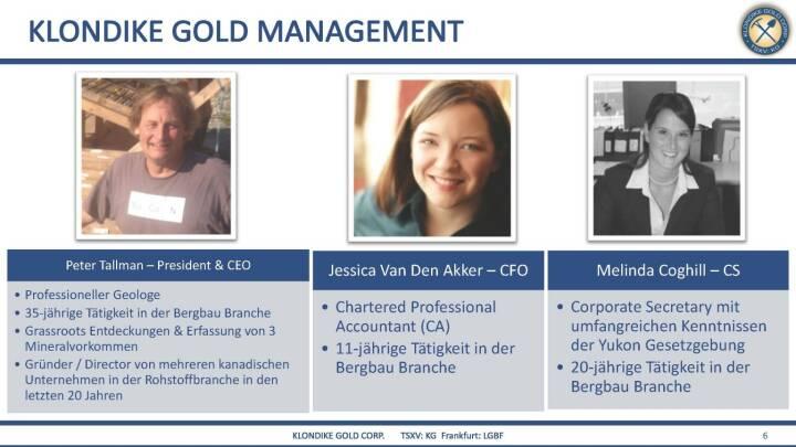 Präsentation Klondike - Management