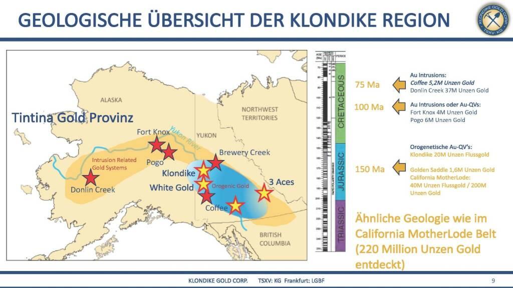Präsentation Klondike - geologische Übersicht der Klondike Region (07.03.2018)