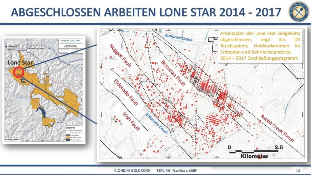Präsentation Klondike - abgeschlossene Arbeiten Lone Star 2014-2017 (07.03.2018)