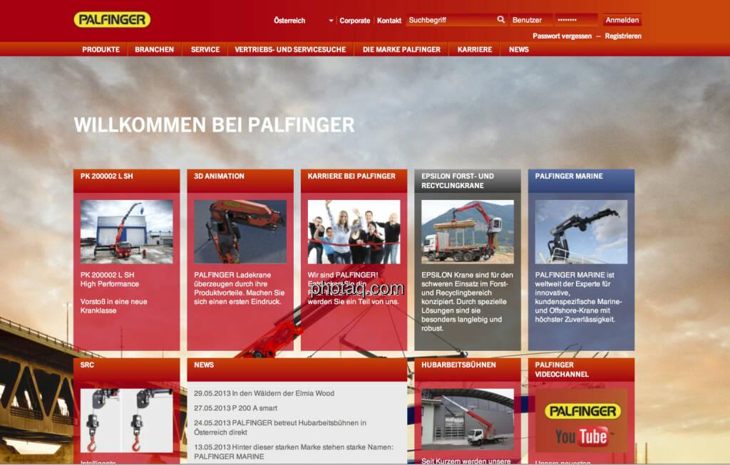 Die Palfinger-Aktie startete am 4. Juni 1999 an der Wiener Börse, Nr. 1 des 1999er-Jahrgangs nach Performance (04.06.2013)