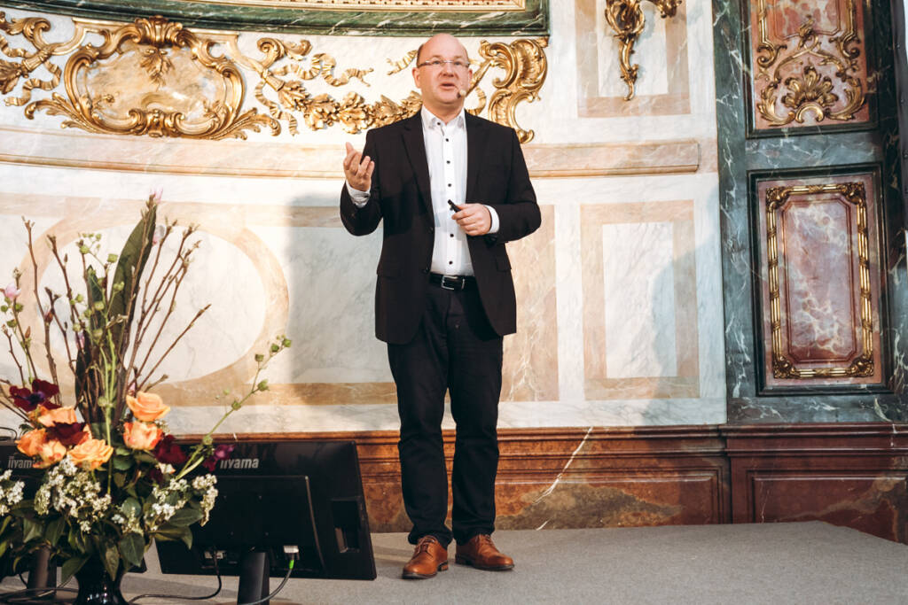 """Am Mittwoch gewährte HMD Global, the Home of Nokia Phones, einen Einblick in seine CEE-Strategie und die neue Produktrange. Florian Seiche, CEO HMD Global, lud Medien aus Zentral- und Osteuropa nach Wien, um eine Vorschau auf die kommenden Monate zu geben. """"2017 war ein fantastisches Jahr – und 2018 wird noch spannender"""", verspricht Seiche. © Philipp Lipiarski.jpg , © Aussender (09.03.2018)"""