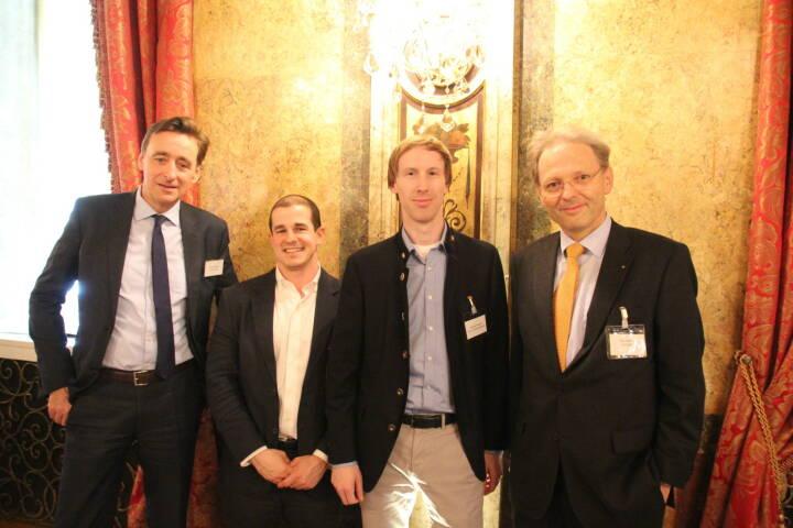 Andreas Ridder (CBRE), Philipp Hain (Reval), Michael Wagner (ERL Immo), Karl Derfler (ADEQAT), Foto: beigestellt