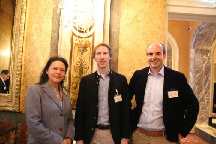 Susanne Müssauer (Graf Familienstiftung), Michael Wagner (ERL Immo), Rudolf Prosoroff (Wettberg Immo); Foto: beigestellt