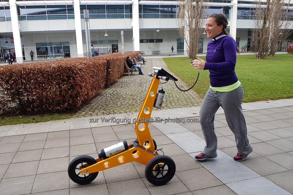 Der Robo-Laufcoach Rufus ist nicht nur für sehbehinderte Läufer ein spannendes Gadget (10.03.2018)