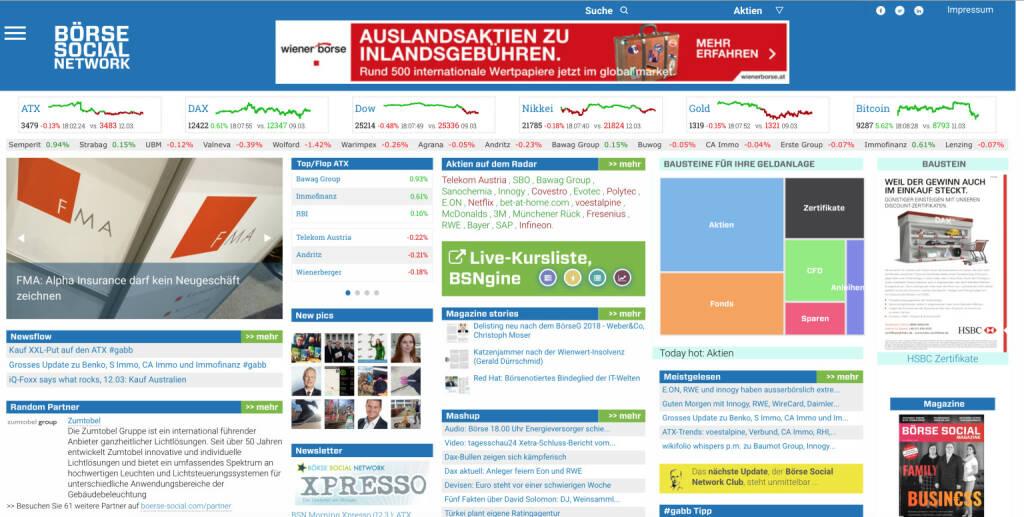 Bausteine der Geldanlage, in Kürze auf boerse-social.com, © Aussender (12.03.2018)