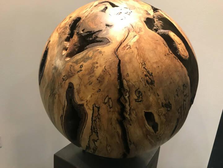Erde Globus Welt Holz