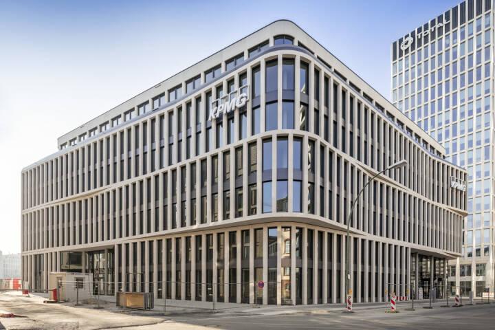 CA Immo hat das KPMG-Gebäude in der Berliner Europacity fertiggestellt und an den Mieter KPMG übergeben. Bild: CA Immo