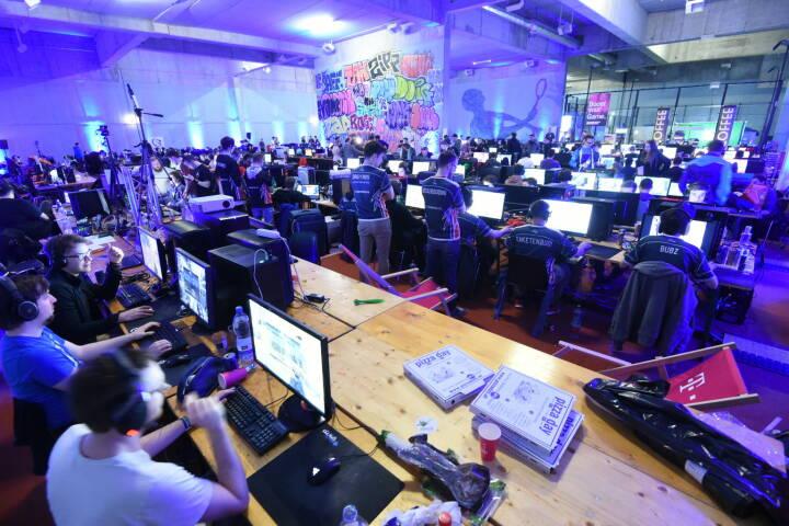eSports Festival, Gamer, Gaming © leisure communications/Christian Jobst