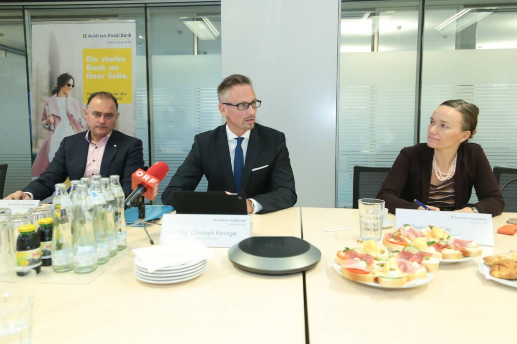 Austrian Anadi Bank AG: Austrian Anadi Bank auf Wachstumskurs; Christoph Raninger, CEO der Austrian Anadi Bank, blickt auf ein erfolgreiches Jahr für das Institut zurück; Fotocredit:Austrian Anadi Bank, © Aussender (24.03.2018)
