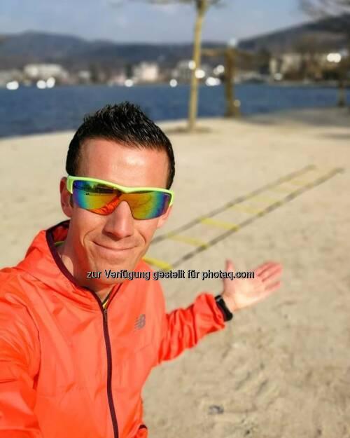 training @ the beach (28.03.2018)