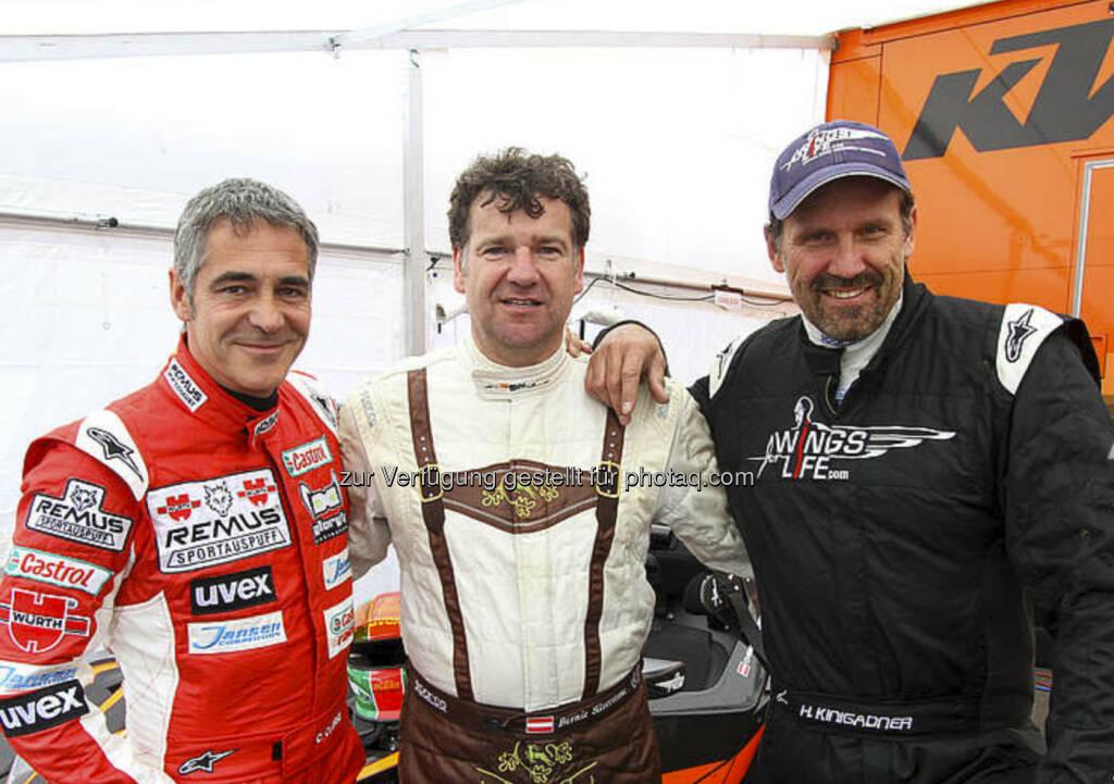KTM X-Bow-Battle Spielberg: Heinz Kinigadner im Prestige-Duell mit Christian Clerici (04.06.2013)
