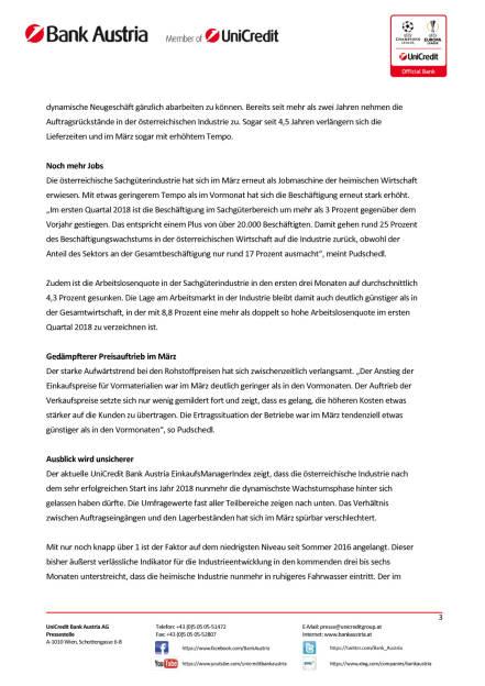 Österreichs Industrie weiter sehr dynamisch, doch Risiken nehmen zu, Seite 3/4, komplettes Dokument unter http://boerse-social.com/static/uploads/file_2421_osterreichs_industrie_weiter_sehr_dynamisch_doch_risiken_nehmen_zu.pdf (28.03.2018)